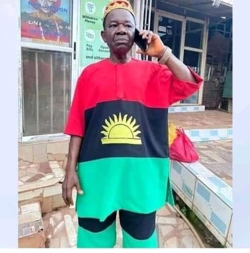 Actor, Chinwetalu Agu arrested by soldiers for Putting on Biafran flag (images)