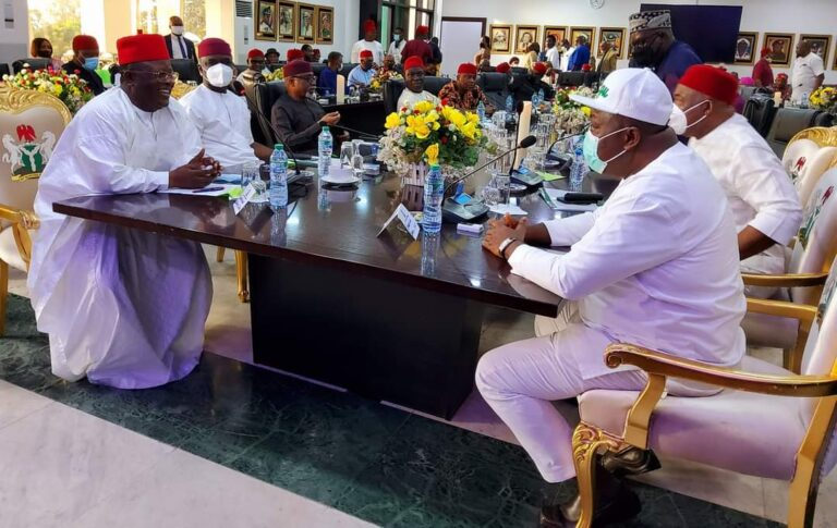 Resolutions from the South Eastern Governors meeting at Enugu