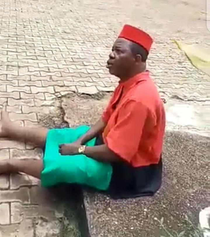 Chinwetalu Agu molested by the soldiers in Onitsha (video)
