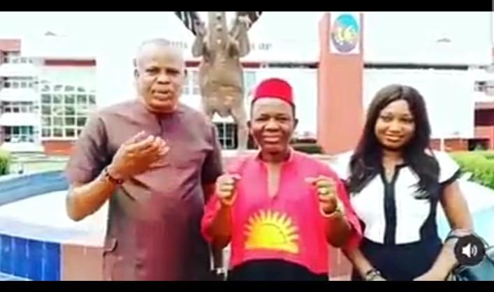 Chinwetalu Agu regains freedom from the military (video)