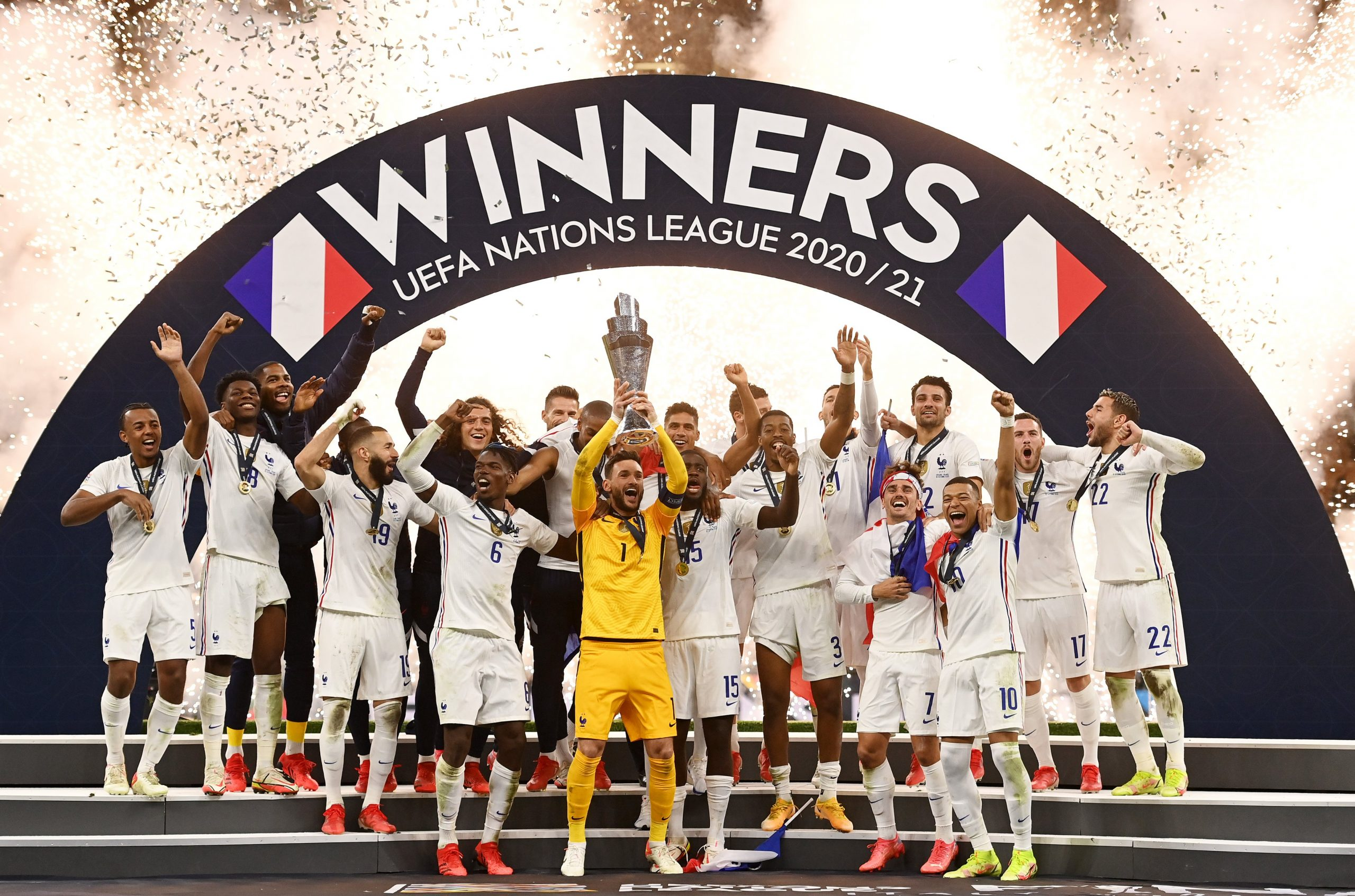 France Beat Spain to clinch the UEFA nations league